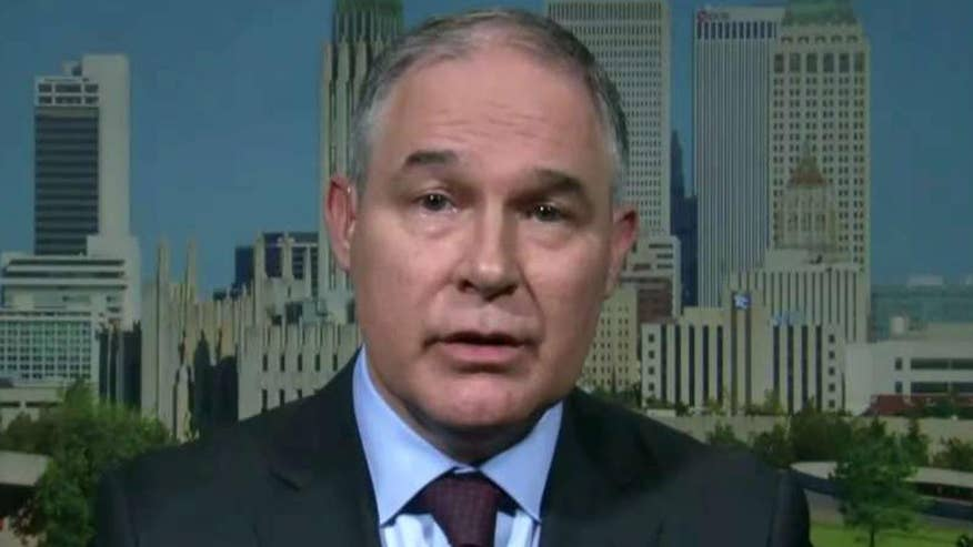 'Fox News Sunday' exclusive interview with the head of the Environmental Protection Agency