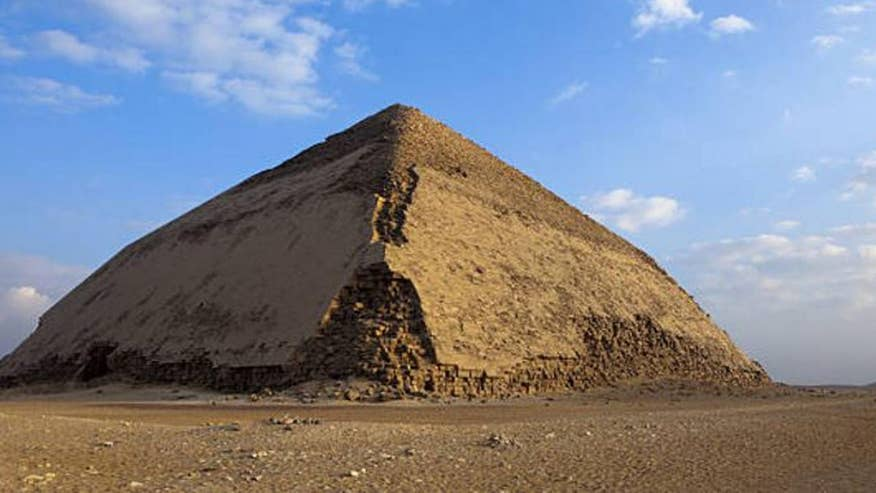 Egyptian excavation team unearths remains of a newly discovered pyramid, dating back from the 13th Dynasty, some 3,700 years ago. Pyramid believe to have been Ancient Egypt's first attempt to build smooth-sided pyramid