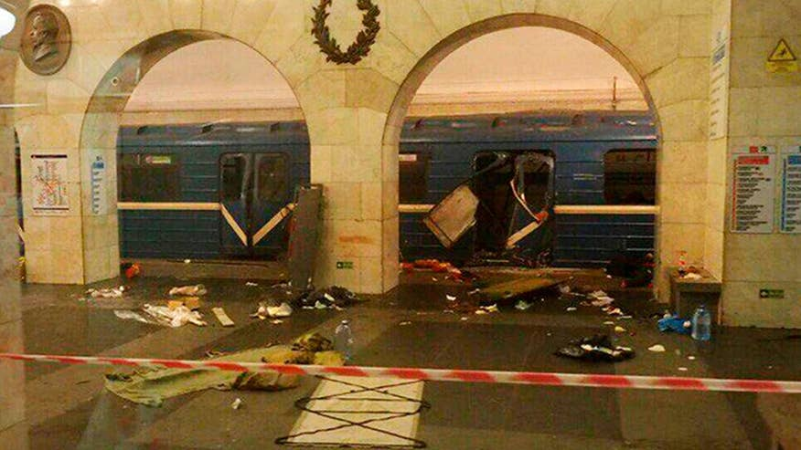 At least 10 dead, many more injured after Russia subway blast