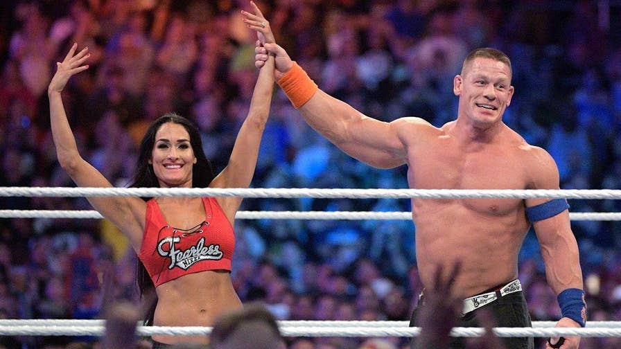Fox411: John Cena asks Nikki Bella to marry him at Wrestlemania