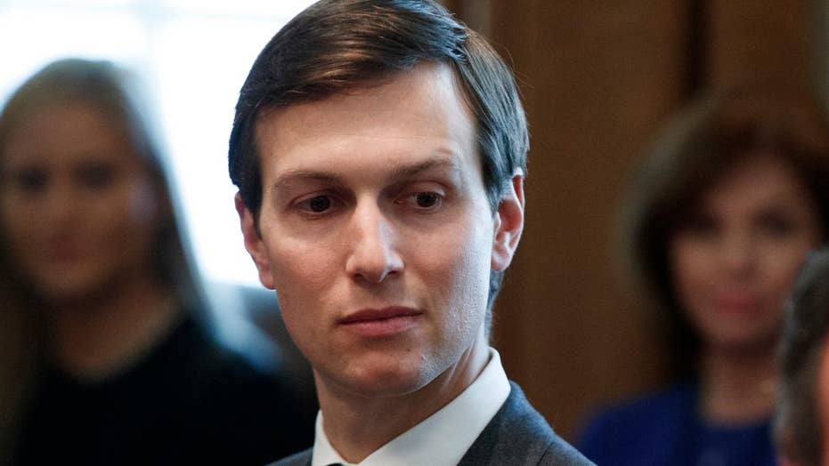 Kushner is tasked with bringing peace to the Middle East