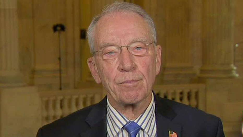 Sen. Grassley on Gorsuch's qualifications, nuclear option