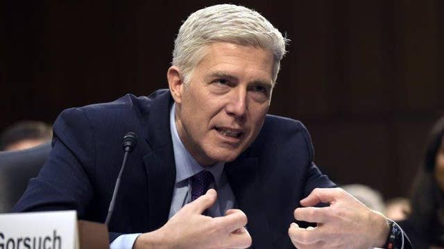 Hannity: Senate Dems' hypocrisy on full display over Gorsuch