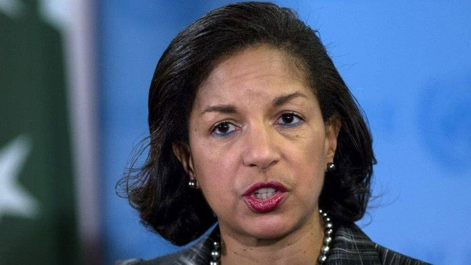 What was Susan Rice's rationale behind the unmasking?