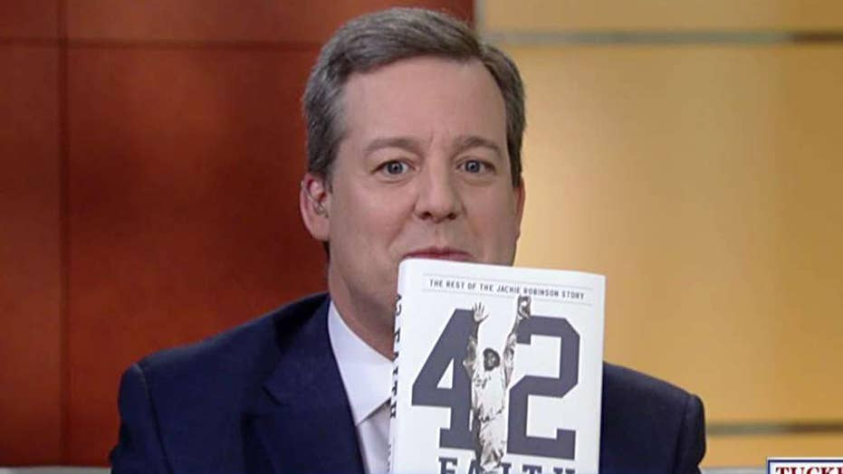 Ed Henry talks about his new book '42 Faith'