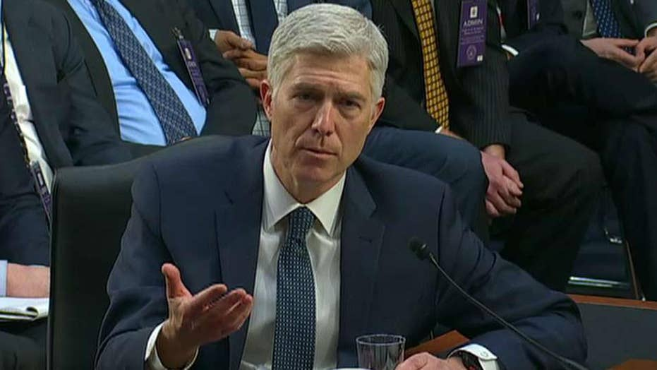 Full Senate debate begins on Gorsuch nomination