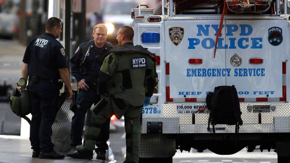 Behind the scenes with the NYPD bomb squad