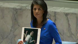 U.S. ambassador to the U.N. addresses chemical weapons attack in Syria