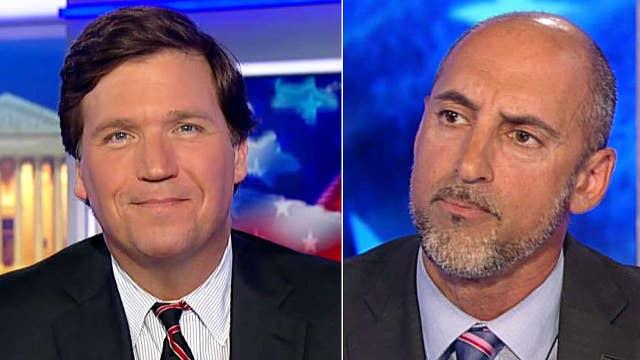 Tucker vs Dem who called him Trump 'smokescreen salesman'
