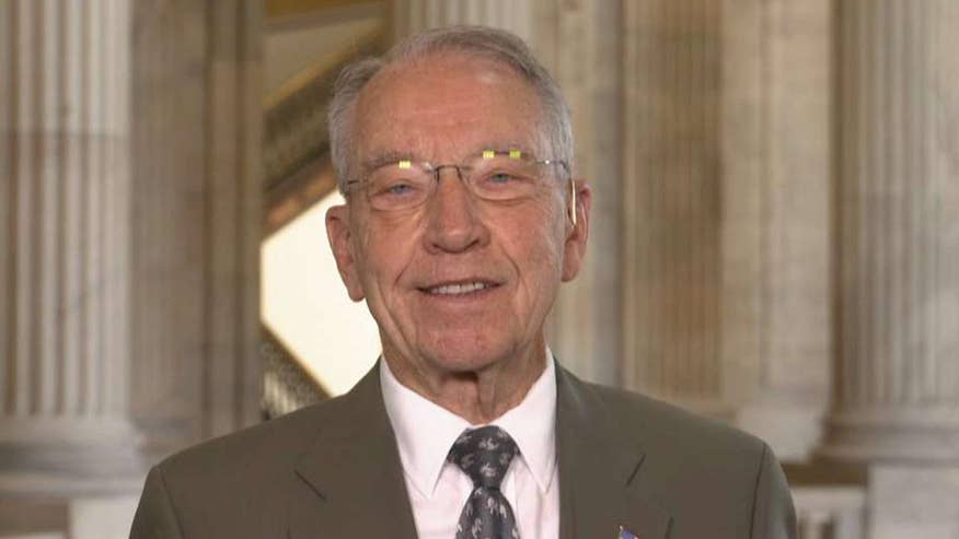 Senate Judiciary Committee chairman speaks out on blame game over use of nuclear option for Gorsuch