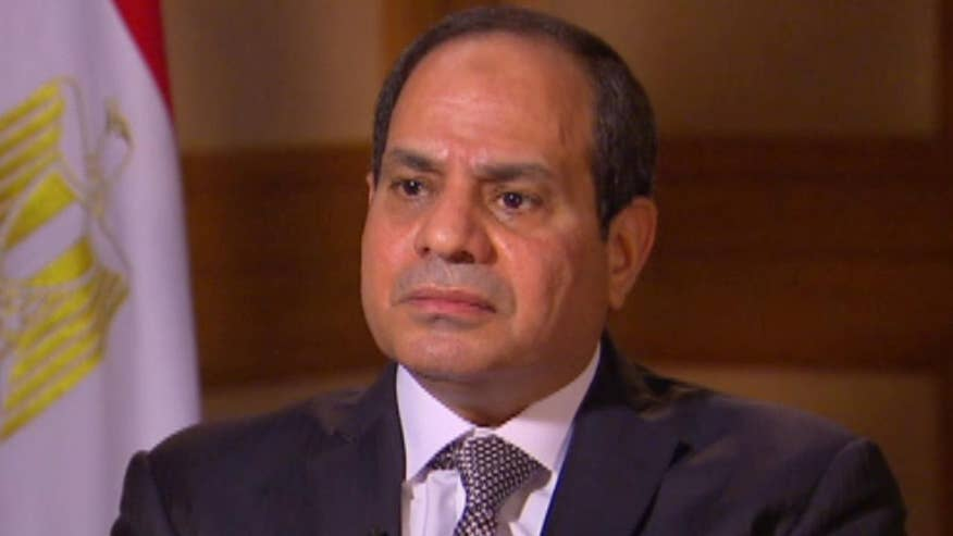 Sneak peek at Bret Baier's exclusive interview with Egyptian President Abdel Fattah el-Sisi