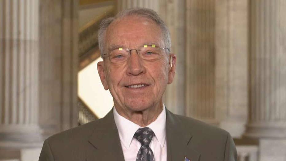 Grassley: Schumer 'poisoned the well' on confirmation rules