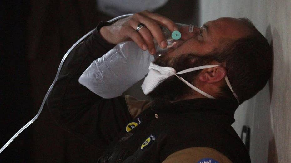 Aftermath of Syrian chemical attack sparks outrage
