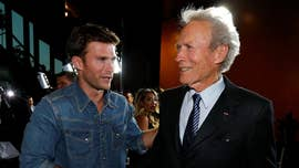 "Unlike his dad Clint Eastwood, Scott Eastwood won't talk about politics '""at all."""