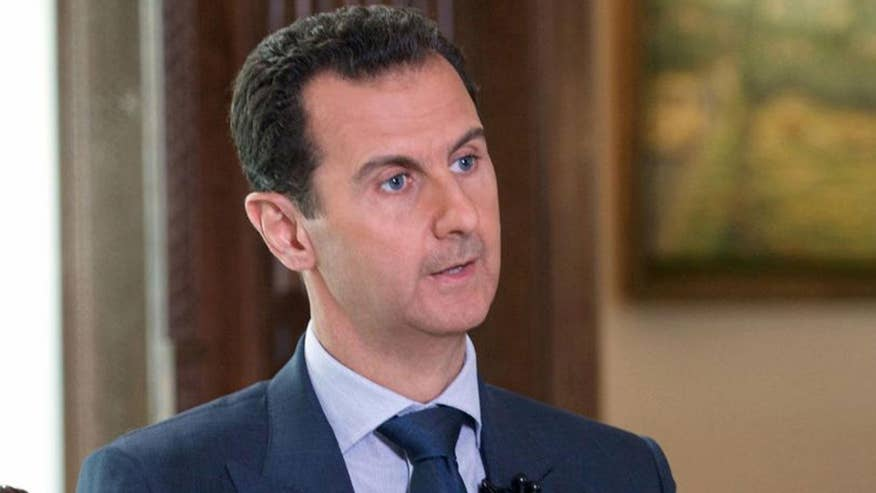 President Trump appeared to signal change in his US policy towards Syria and its leader Assad after deadly chemical attack #Tucker