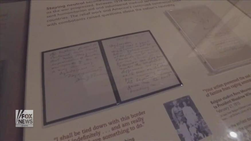 Touching WWI Letters Never Seen Before On Display At