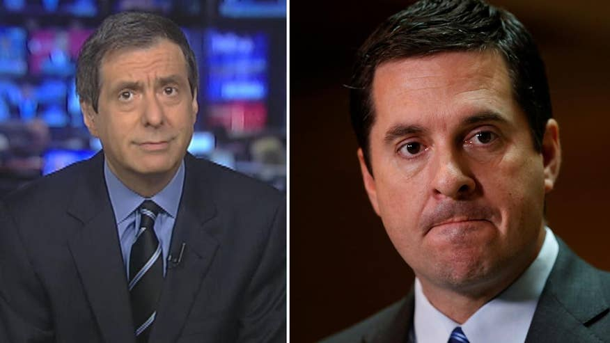 'MediaBuzz' host Howard Kurtz weighs in on the media reaction to Devin Nunes stepping down from the Russia-Trump investigation