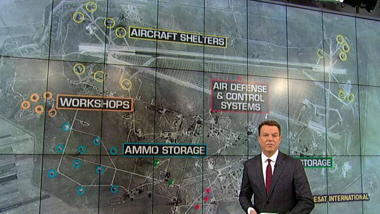 Syria Missile Attack Satellite Photos Show Major Damage