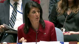 U.S. ambassador to the U.N. tells Security Council that airstrikes were 'fully justified' after chemical weapons attack