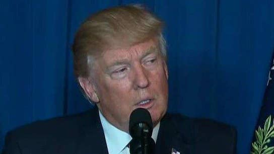 Trump: As long as US stands for justice, peace will prevail