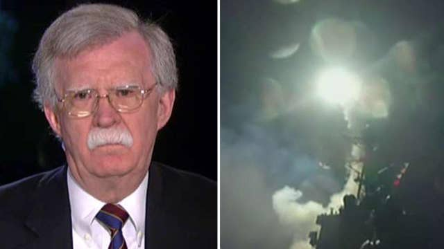 Bolton: Syria strike ended Obama era of US foreign policy