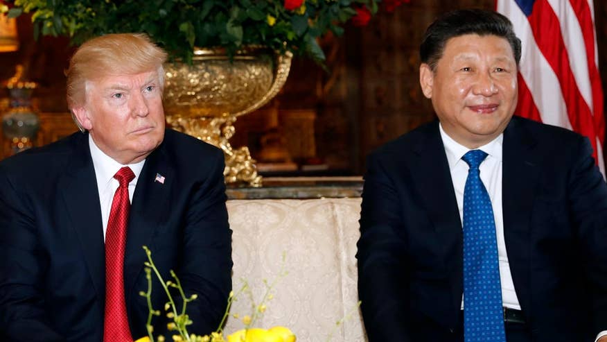 Report: President Trump decided on Syria action before meeting with Chinese President Xi