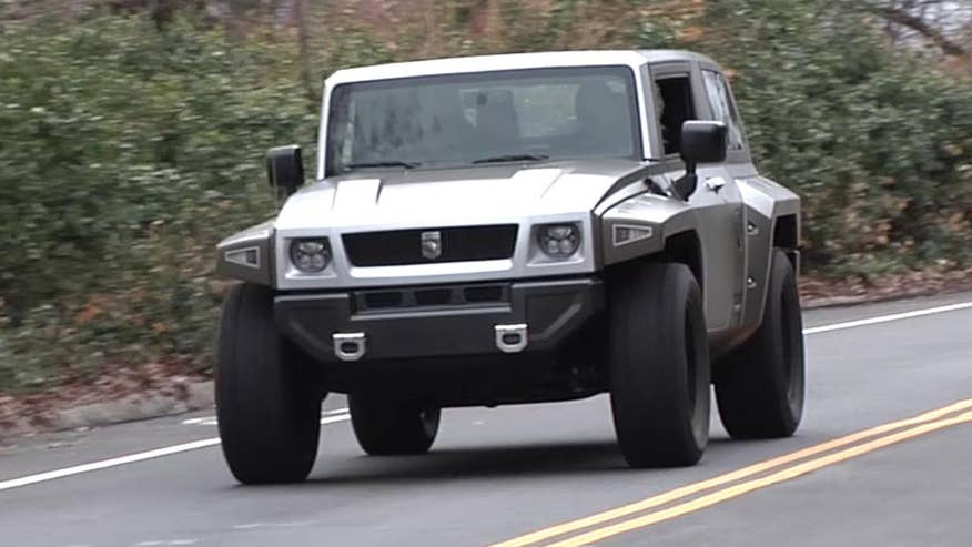 Hellcat Powered Rhino Xt Is A Fast And Furious Truck Fox