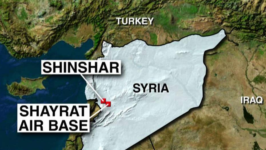 US launches airstrikes in Syria