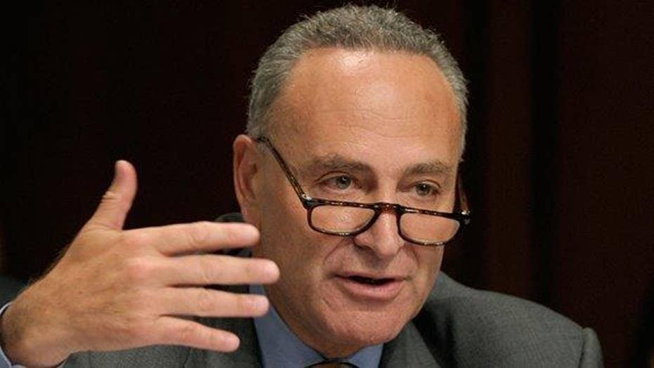 Sen. Schumer releases statement supporting Syria strike