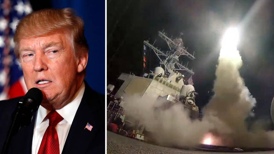 Trump said to be pleased with Syria strike, response