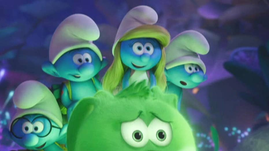 'The Smurfs' take aim at box office's top spot