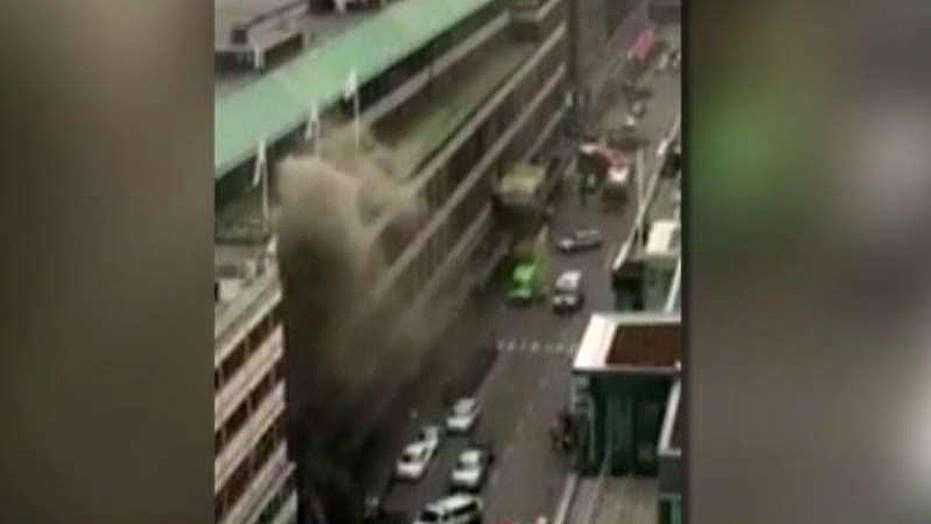 Terrorism suspected in truck attack in Sweden
