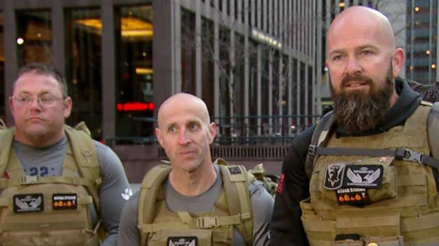 Shepherd's Men ruck for the brave and thank first responders