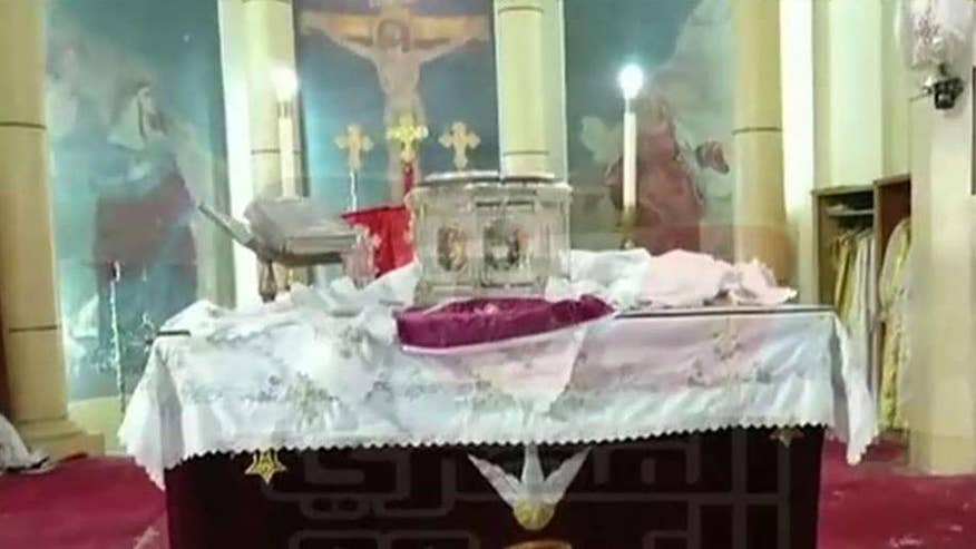 Terror group attacks Coptic Christians on Palm Sunday
