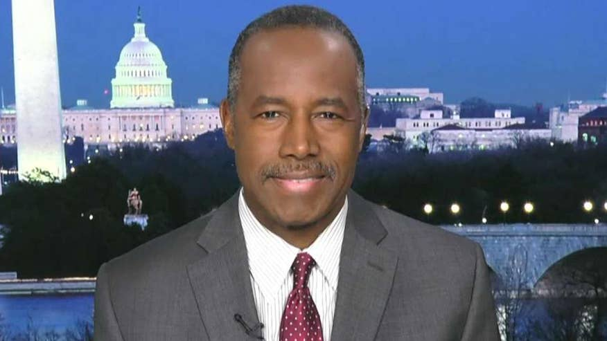 HUD secretary weighs in on 'Fox Report'