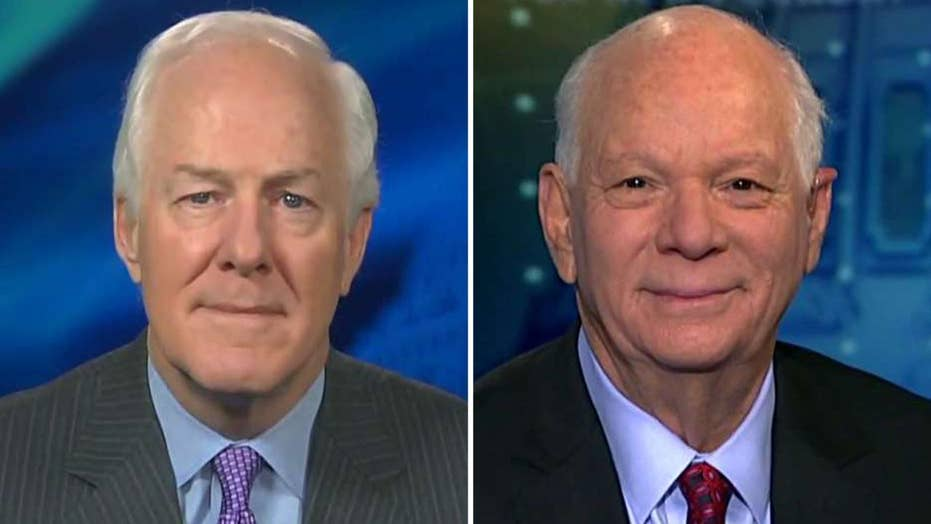 Cornyn, Cardin on whether Trump needs Congress' approval