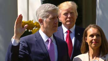 Gorsuch sworn in as Supreme Court justice ahead of key cases