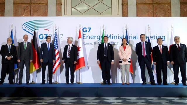 Syria conflict headlines summit of G7 foreign ministers