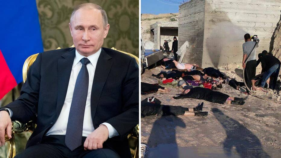 Russia knew in advance of Syria's chemical weapons attack