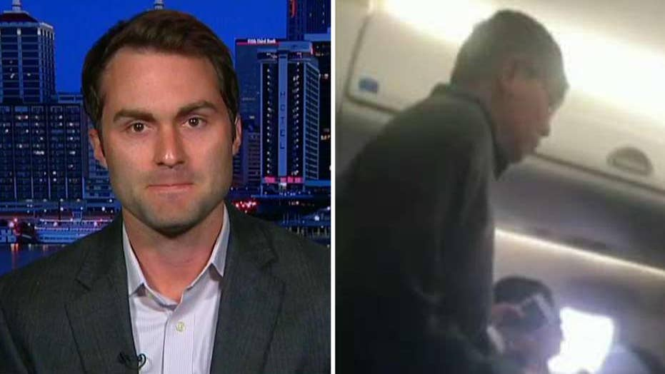 Eyewitness recounts passenger's removal from plane
