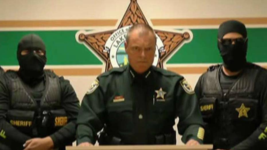 Florida sheriff takes drug crimes in his area very seriously