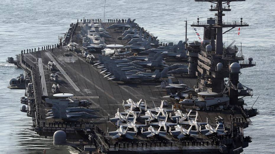 North Korea warns US over deploying aircraft carrier