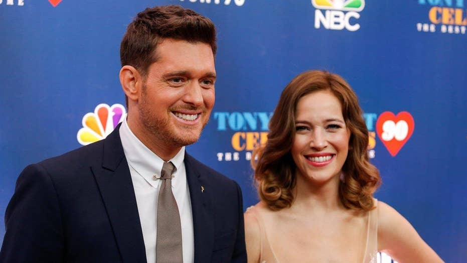 Michael Buble's wife updates on son's health<br>