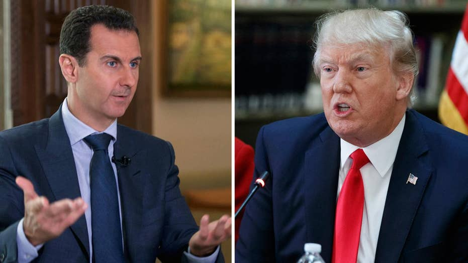 Why Syria is President Trump's first big foreign policy test