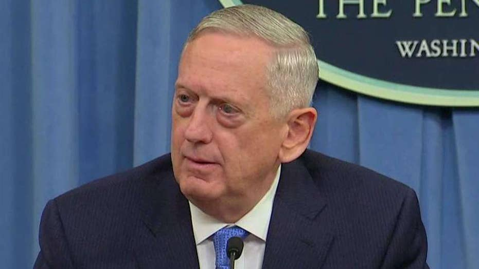 Mattis: The US will not stand by when Assad acts
