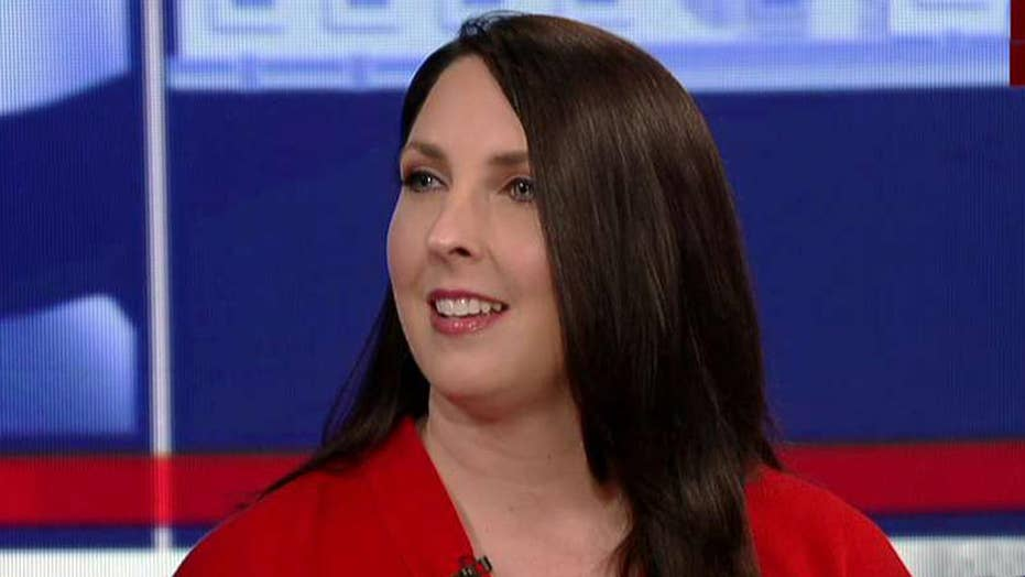 RNC chairwoman is 'optimistic' about Kansas special election