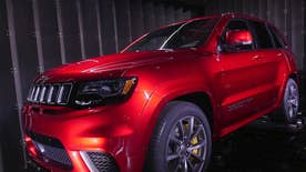The 707 hp 2018 Jeep Grand Cherokee Trackhawk is the world's most powerful SUV
