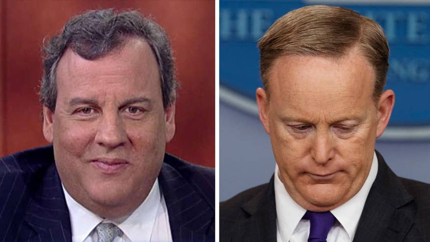 New Jersey governor reacts to press secretary's remarks on 'Fox & Friends'
