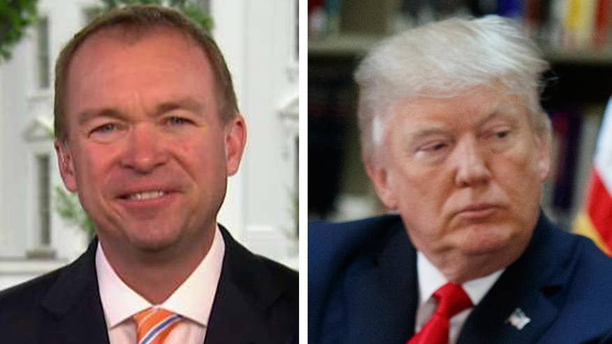 OMB director speaks out on 'Fox & Friends'