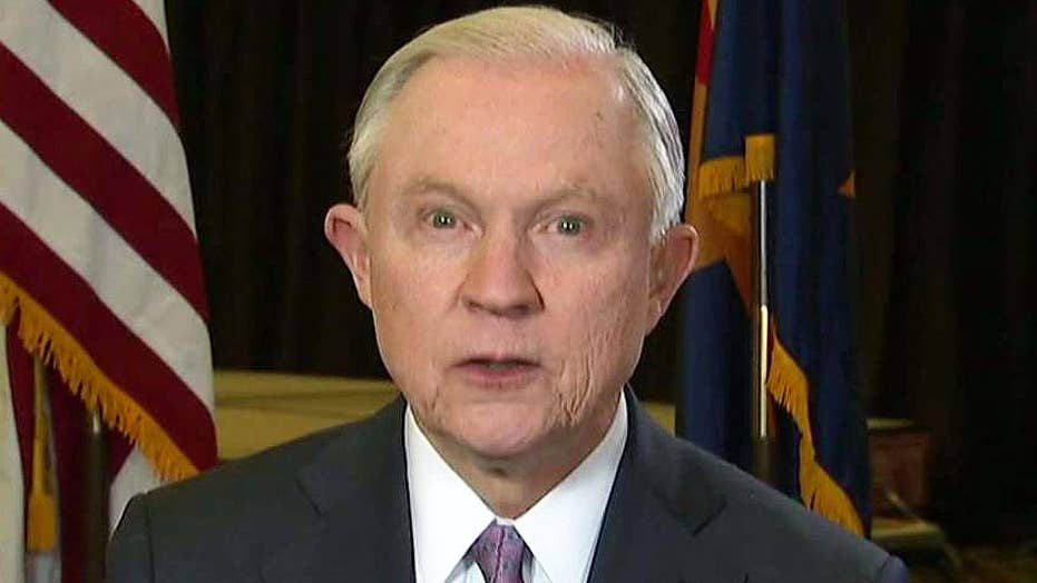 Sessions's message to the world: The border is not open